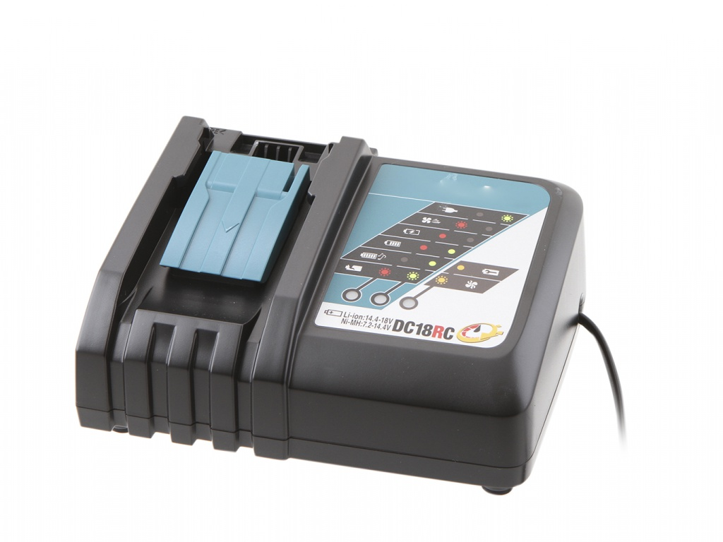 Комплект Makita Аккумулятор BL1860B Li-ion 18V 6Ah х2шт + ЗУ DC18RC Кейс MakPac 198118-0