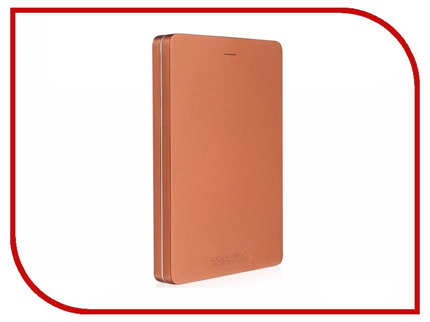 Жесткий диск Toshiba Canvio Alu 1Tb Red HDTH310ER3AB
