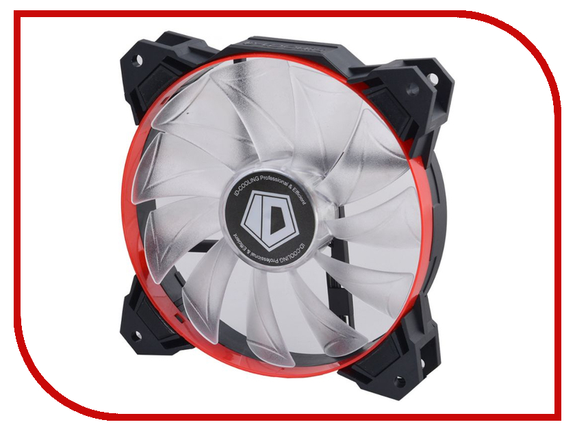 Вентилятор ID-Cooling SF-12025-R original sunon 12025 12cm 220v dp201at 2122hbl gn 120 long wide 25 thick double ball cooling fan