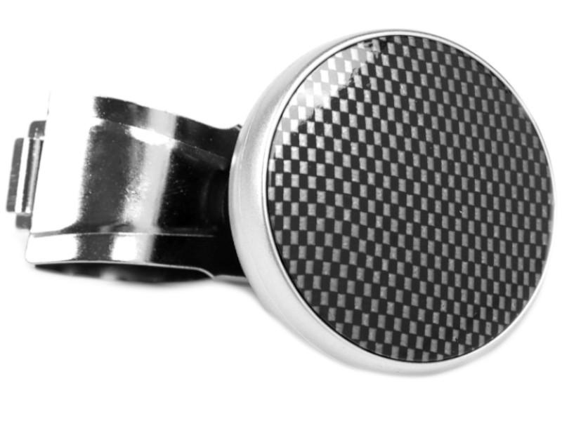 Ручка на руль СИМА-ЛЕНД Silver-Carbon 3145330