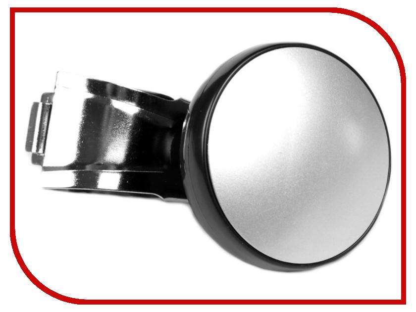 Ручка на руль СИМА-ЛЕНД Black-Silver 3145337 держатель сима ленд silver 3185501