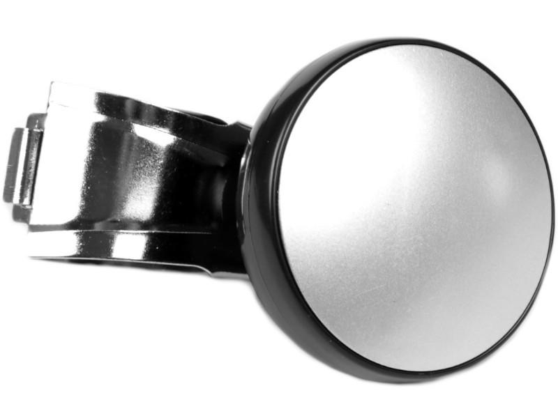 Ручка на руль СИМА-ЛЕНД Black-Silver 3145337