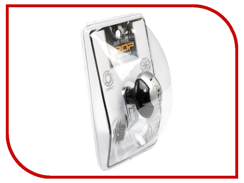 Ручка на руль СИМА-ЛЕНД Black-Silver 3145340 держатель сима ленд silver 3185501