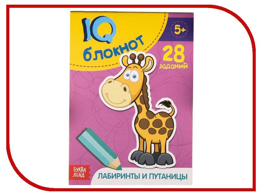 Обучающая книга Буква-ленд IQ Лабиринты и путаницы 2599343