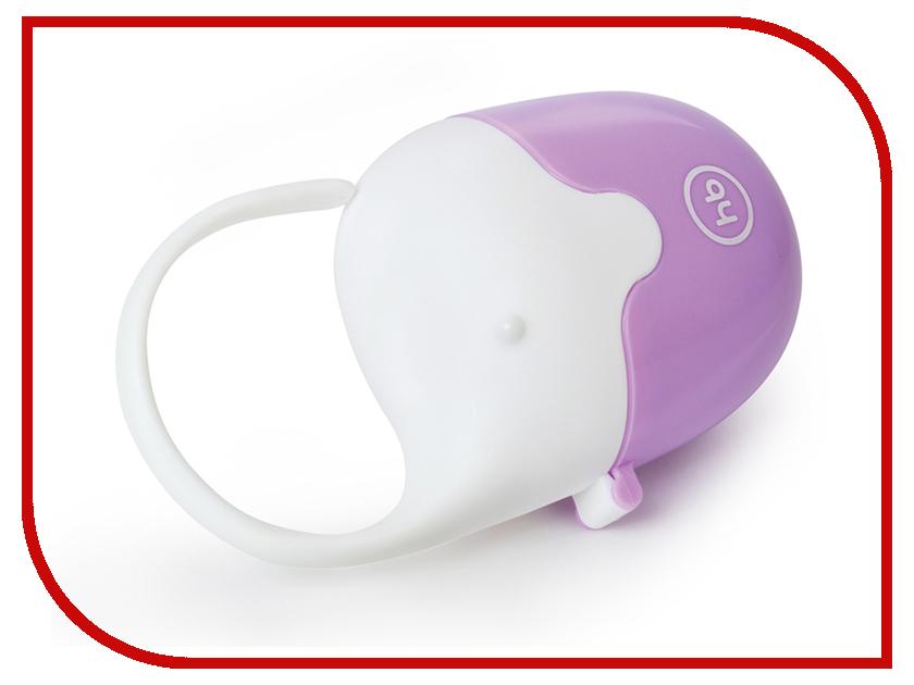 Контейнер Happy Baby 11019 Violet 4690624023163 happy baby контейнер для пустышки soother box happy baby голубой