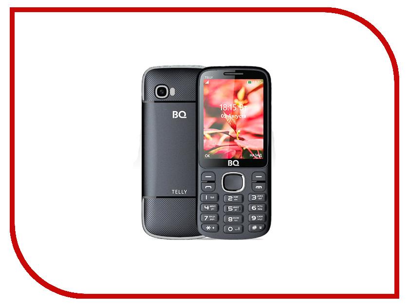 Сотовый телефон BQ 2808 Telly Black-Grey