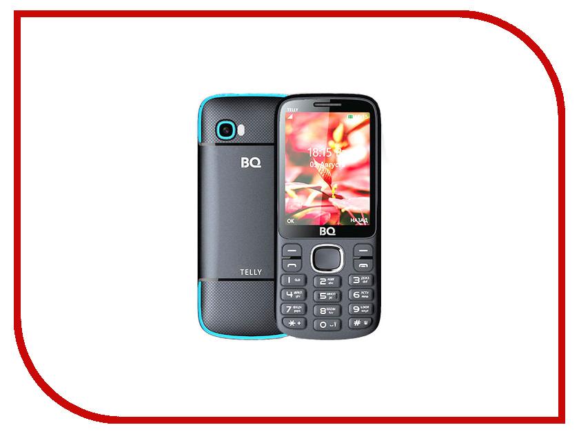 Сотовый телефон BQ 2808 Telly Black-Blue сотовый телефон bq 1807 step black