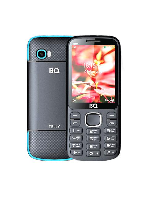 Сотовый телефон BQ 2808 Telly Black-Blue цена и фото