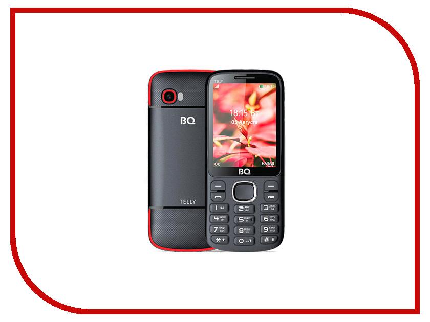 Сотовый телефон BQ 2808 Telly Black-Red мобильный телефон bq mobile bq 2808 telly white blue