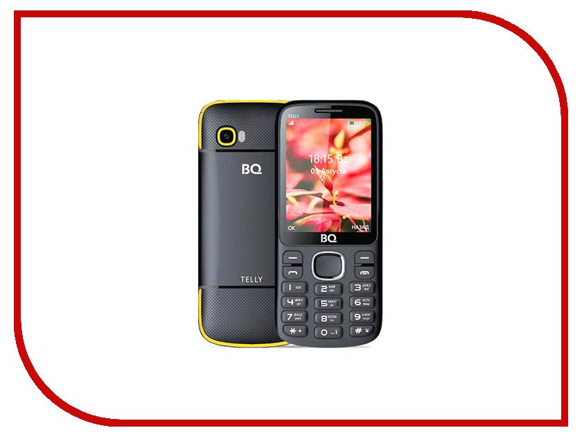 Сотовый телефон BQ 2808 Telly Black-Yellow мобильный телефон bq mobile bq 2808 telly white blue