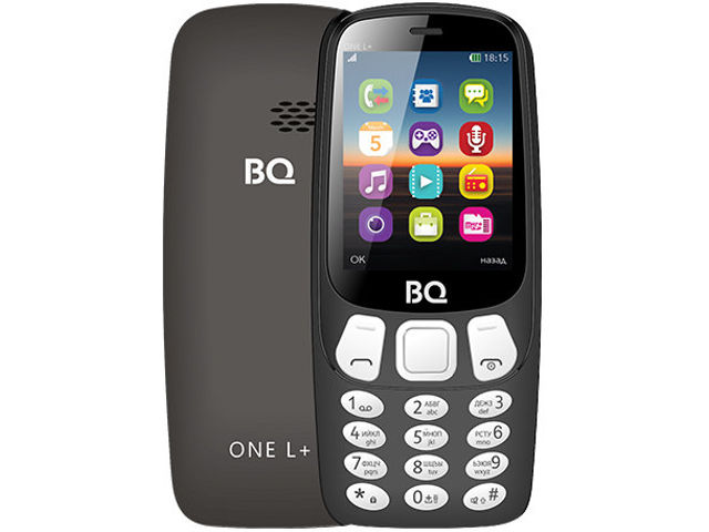 Сотовый телефон BQ BQ-2442 One L Plus Black телефон
