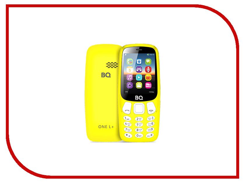 все цены на Сотовый телефон BQ BQ-2442 One L Plus Yellow онлайн