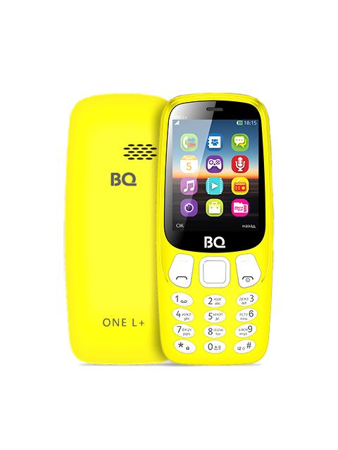 Сотовый телефон BQ BQ-2442 One L Plus Yellow сотовый телефон bq bq 6010g practic gold