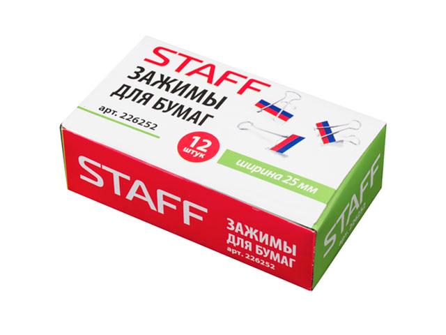 Зажимы для бумаг Staff 226252