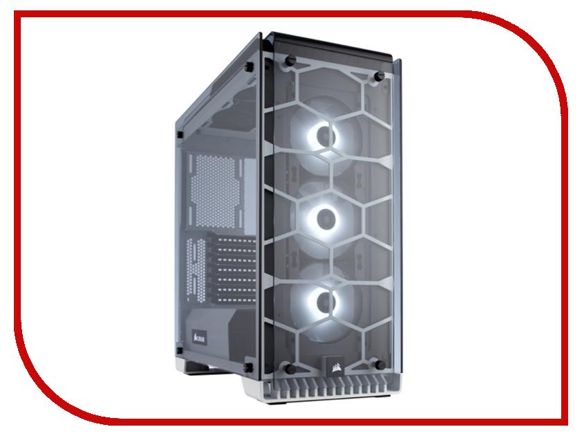 Корпус Corsair Crystal Series 570X RGB White sony sony hxr nx3 новая профессиональная карта памяти видеокамеры портативный hd