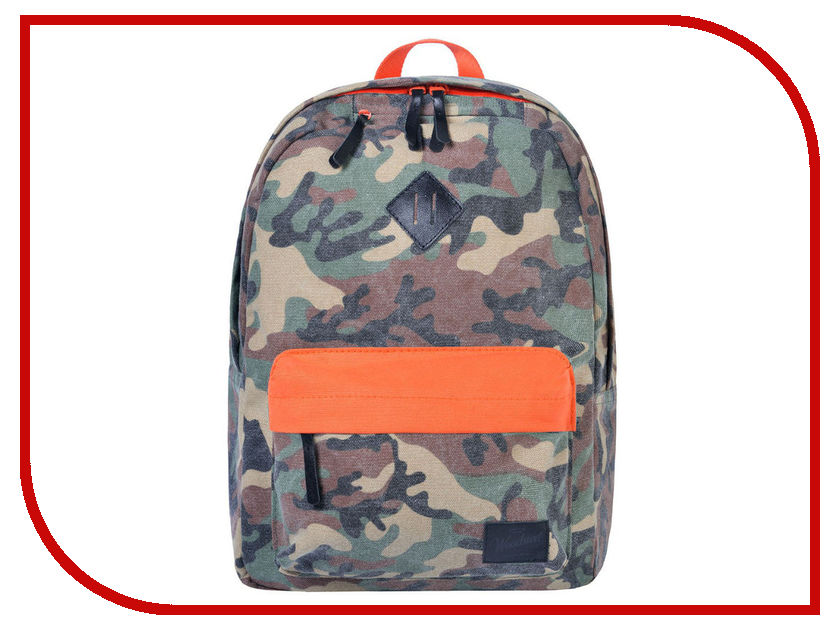 Рюкзак Woodsurf United Academy Camp Fires Mix Orange-Camo BPCF-02
