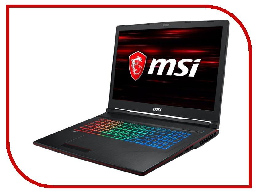 Ноутбук MSI GP73 Leopard 8RE-470RU 9S7-17C522-470 Black (Intel Core i7-8750H 2.2 GHz/16384Mb/1000Gb/No ODD/nVidia GeForce GTX 1060 6144Mb/Wi-Fi/Bluetooth/Cam/17.3/1920x1080/Windows 10 64-bit) ноутбук msi ge72 6qf 012ru 9s7 179441 012 intel core i7 6700hq 2 6 ghz 8192mb 1000gb dvd rw nvidia geforce gtx 970m 3072mb wi fi bluetooth cam 17 3 1920x1080 windows 10 64 bit