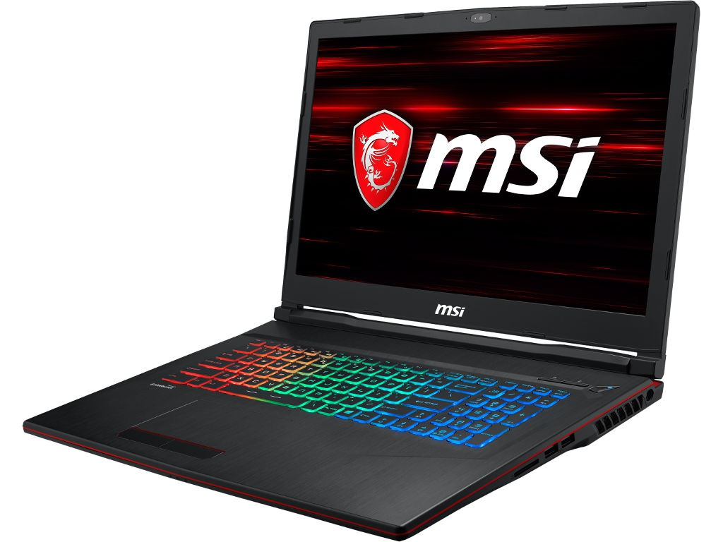 Ноутбук MSI GP73 Leopard 8RD-245XRU 9S7-17C622-245 Black (Intel Core i7-8750H 2.2 GHz/16384Mb/1000Gb + 128Gb SSD/No ODD/nVidia GeForce GTX 1050Ti 4096Mb/Wi-Fi/Bluetooth/Cam/17.3/1920x1080/DOS)