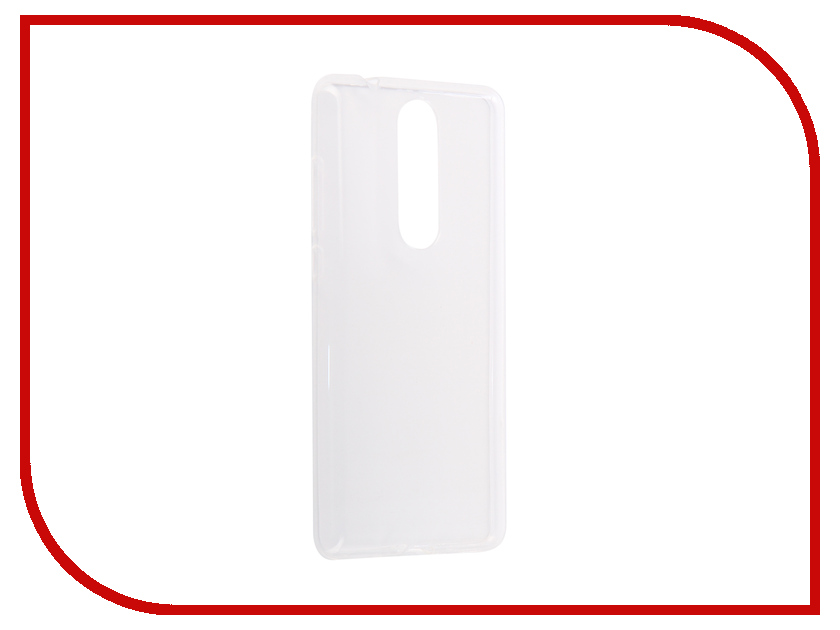 Аксессуар Чехол для Nokia 5.1 2018 Zibelino Ultra Thin Case White ZUTC-NOK-5.1-WHT аксессуар чехол для lg g7 thinq ultra zibelino thin case white zutc lg g7 wht