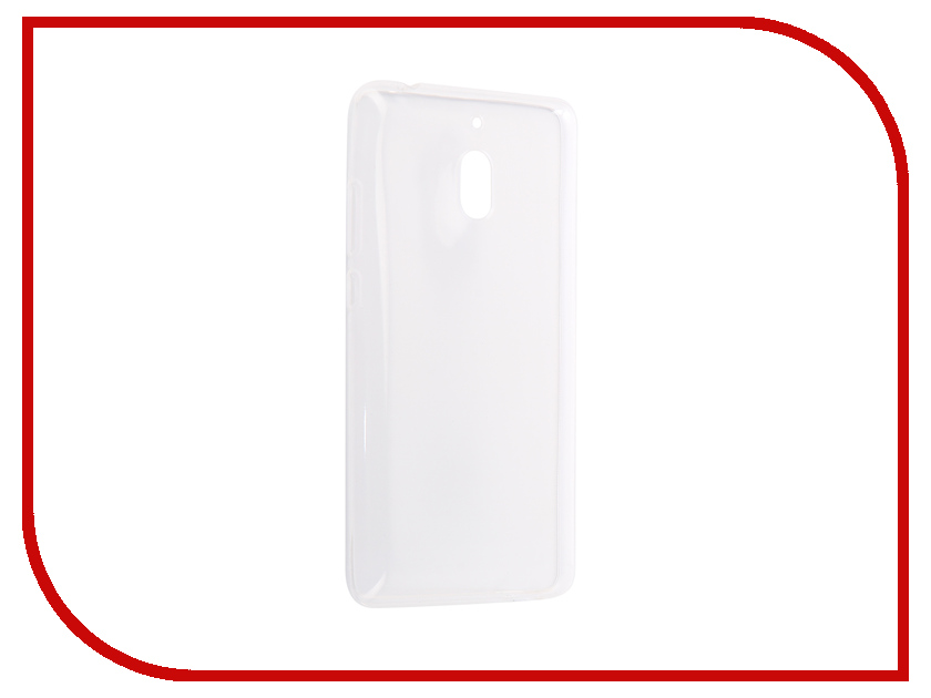 Аксессуар Чехол для Nokia 2.1 2018 Zibelino Ultra Thin Case White ZUTC-NOK-2.1-WHT universal usb male to micro usb male data sync
