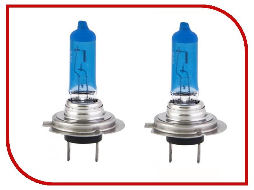Лампа SVS White 5000K H7 12V 55W + W5W Ver.2.0 White 0200108000 (2 штуки)