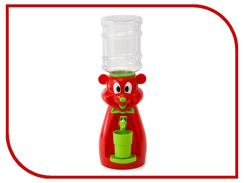 Кулер Vatten Kids Mouse со стаканчиком Red 4907 vatten kids mouse white со стаканчиком