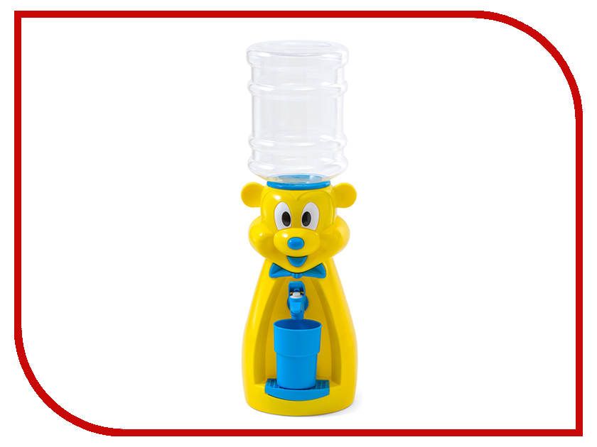 Кулер Vatten Kids Mouse со стаканчиком Yellow 4913 vatten kids mouse white со стаканчиком