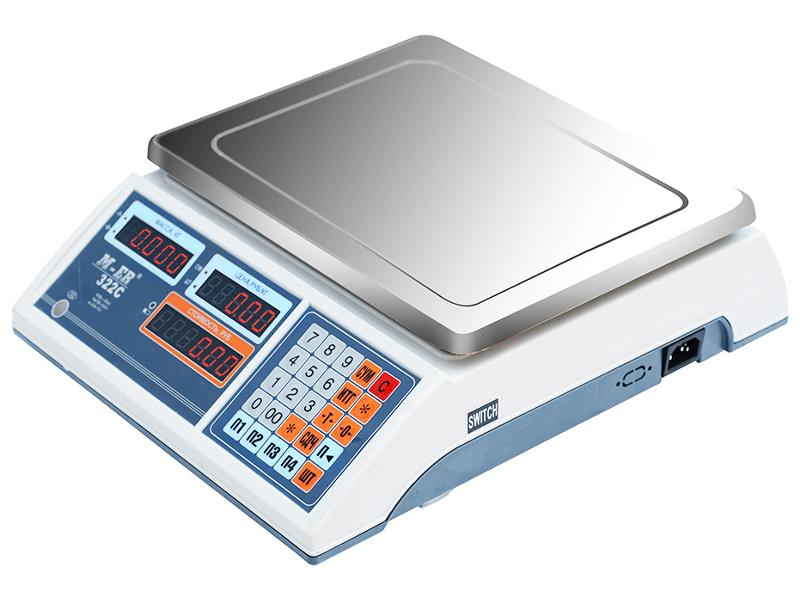 Весы Mercury M-ER 322AC-32.5 IbbyLCD