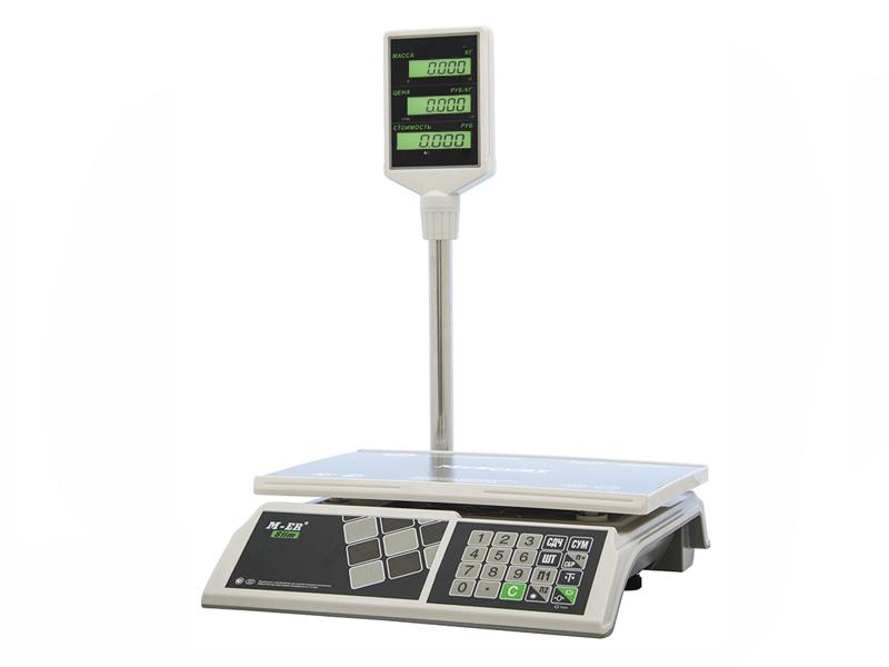 Весы Mercury M-ER 326ACP-15.2 Slim LCD White