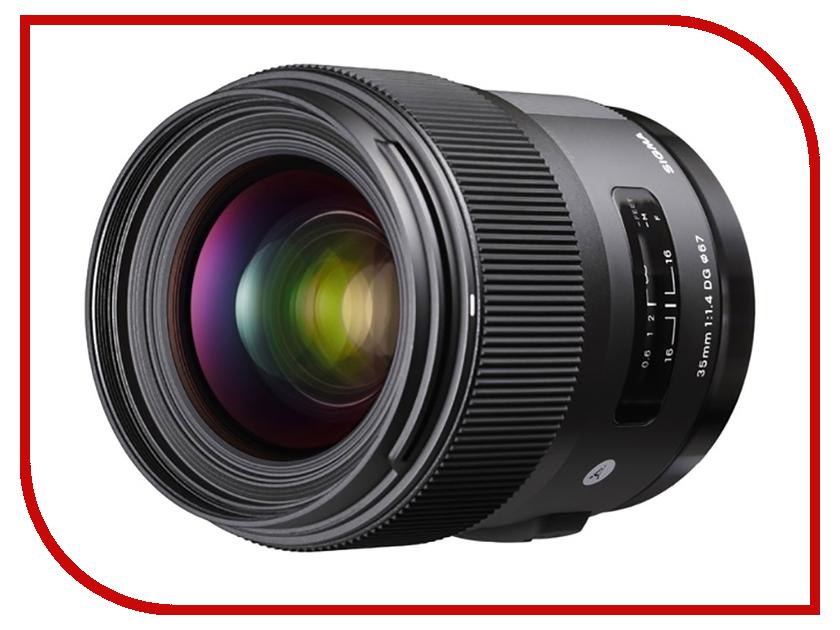 Объектив Sigma Sony E AF 35 mm F/1.4 DG HSM / A все цены