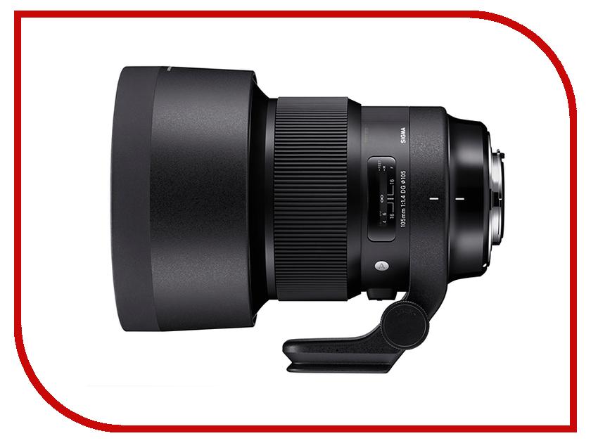 Zakazat.ru: Объектив Sigma Canon AF 105 mm f/1.4 Macro DG HSM / A