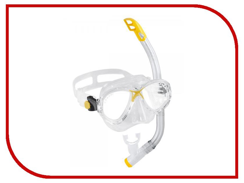 Набор маска + трубка Cressi Marea VIP JR Top Transparent/Yellow DM1000061 dk eyewitness top 10 travel guide scotland