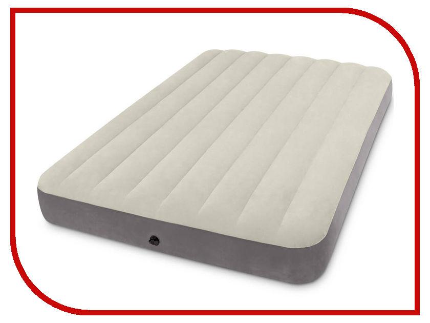 Надувной матрас Intex Deluxe Single-High 137x191x25cm 64102