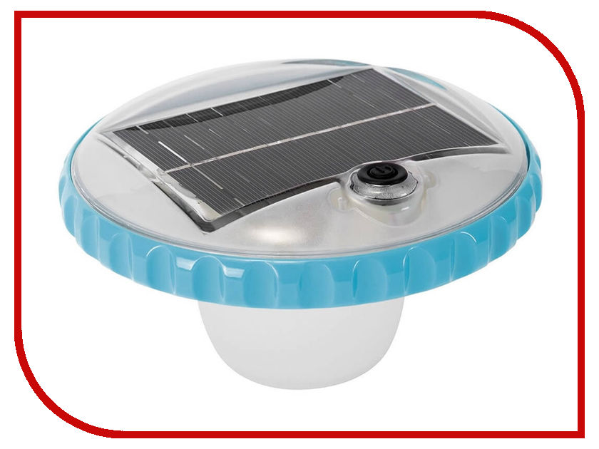 Аксессуар Intex 28695 светодиодная подсветка intex плавающая на солнечной батарее 28695