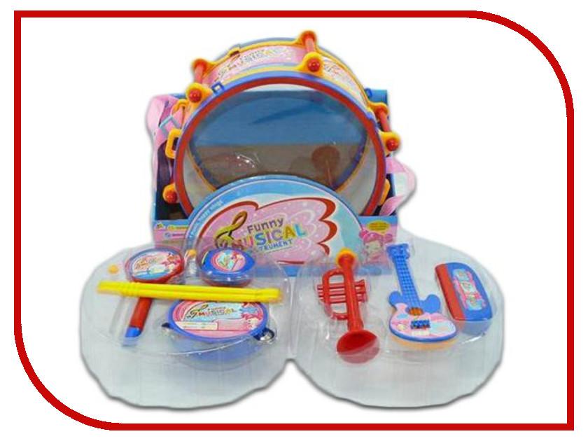 Детский музыкальный инструмент Shantou Gepai Набор музыкальных инструментов в барабане 7799E