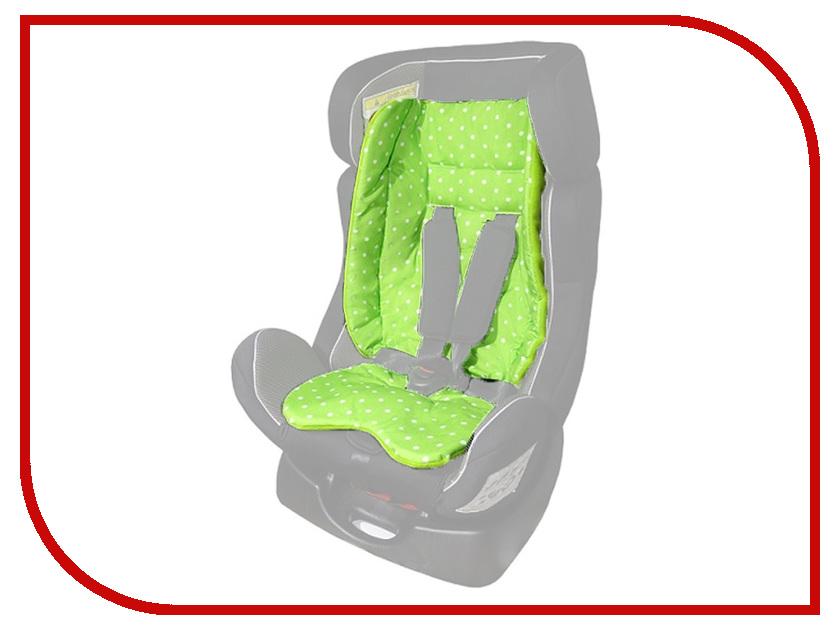 Чехол-вкладыш для автокресла ProtectionBaby BP-011/2 Mini Color+ Green 4631111110775