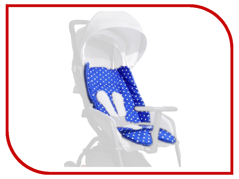 Чехол-вкладыш для автокресла ProtectionBaby BP-011/2 Mini Color+ Blue 4631111110768