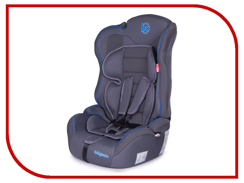 Автокресло Baby Care Upiter Plus группа 1/2/3 Grey-Blue 4610027548490 автокресло baby care rubin