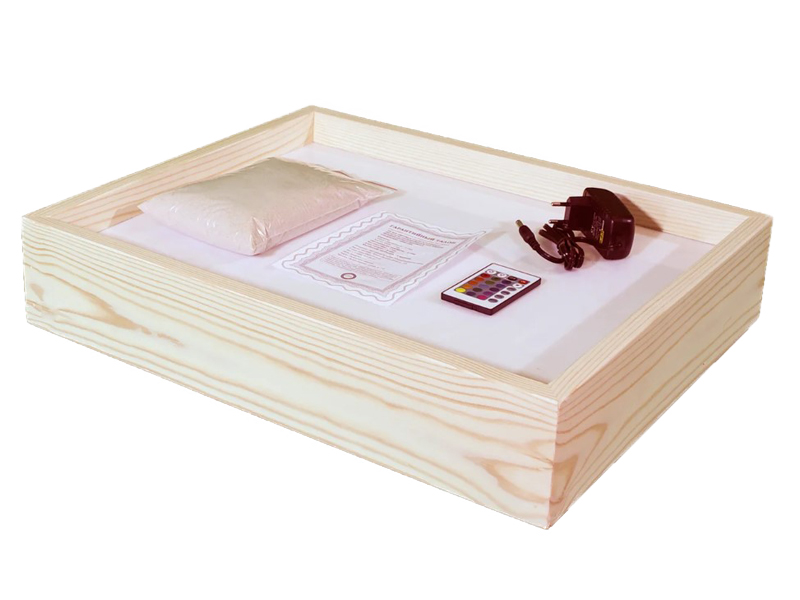 Планшет для рисования песком Sand Stol Нолик 34x44x7cm П2
