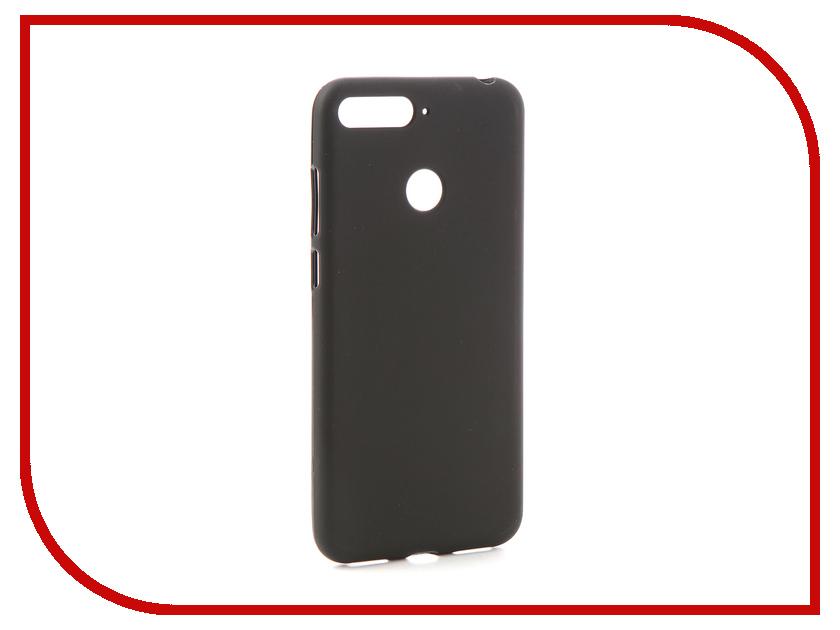 все цены на Аксессуар Чехол для Huawei Honor 7C Svekla Black SV-HWH7C-MBL онлайн