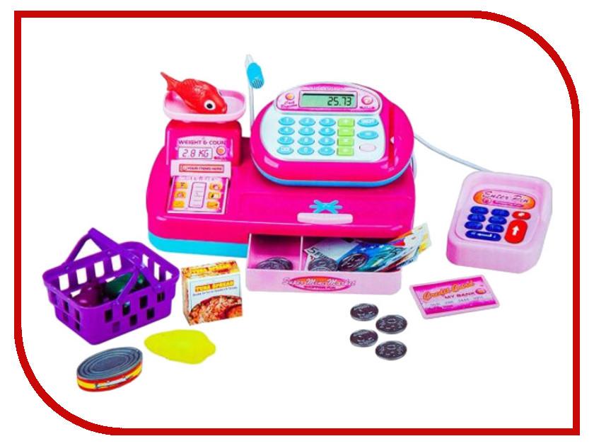 Игра Shantou Gepai Кассовый аппарат со сканером и набором продуктов Y360822 настольная игра shantou gepai аэрофутбол 5016
