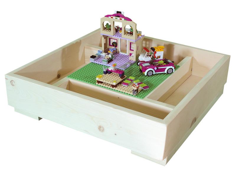 Игровой стол Sand Stol LEGO-планшет 25x25cm ЛГ11