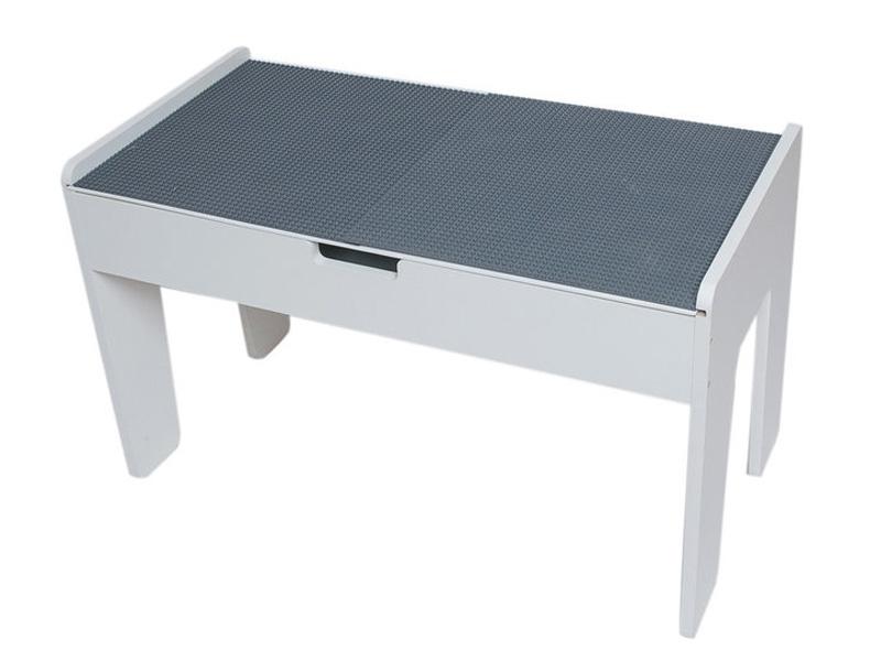 Игровой стол Sand Stol LEGO-стол МДФ + LEGO-полотно 40x80cm Grey ЛГ2