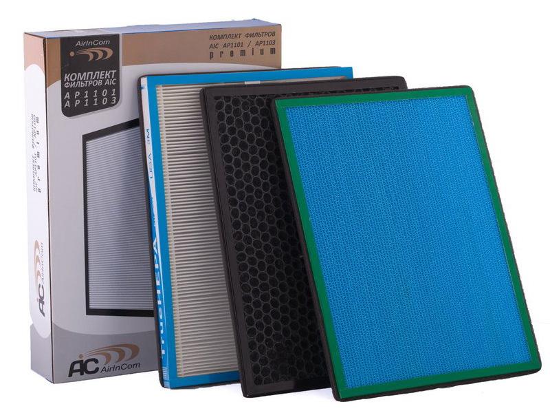 Аксессуар Комплект фильтров для AIC AP-1101