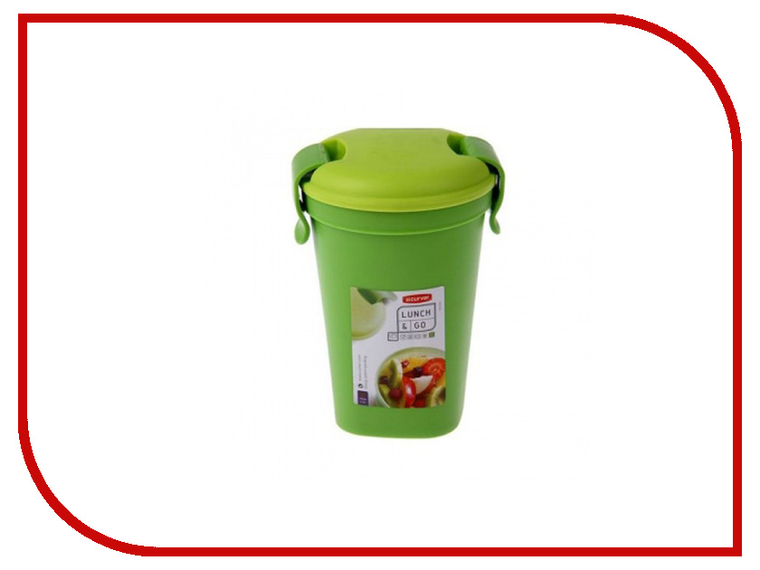 Фото - Кружка Curver Lunch & Go Green 00769-C52-00 пенал dakine lunch box 5 l augusta