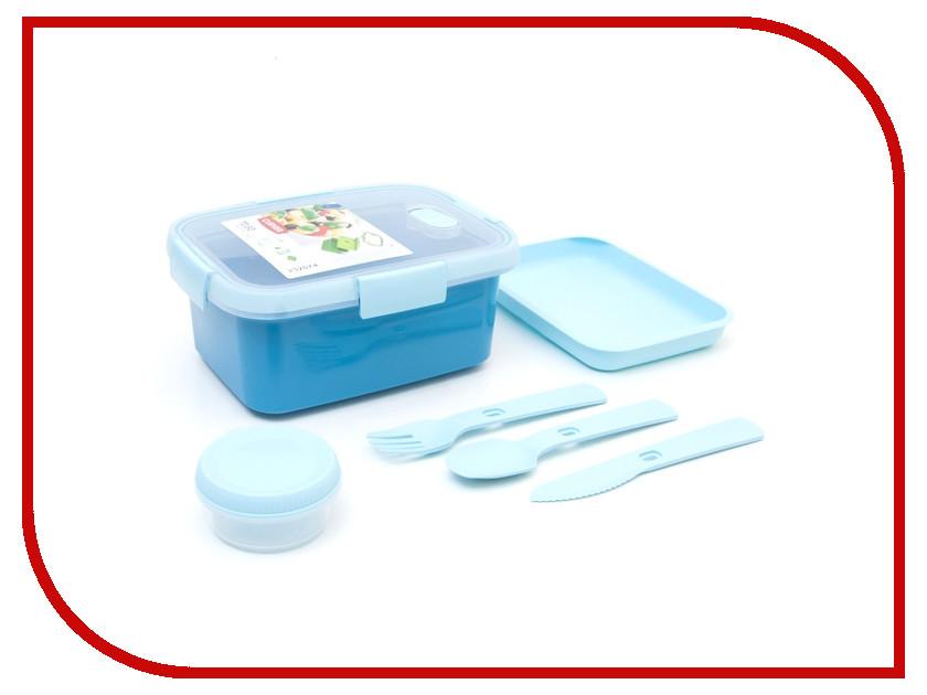 Купить Ланч-бокс Curver To Go Kit 1.2L Blue 00947-Y33-00