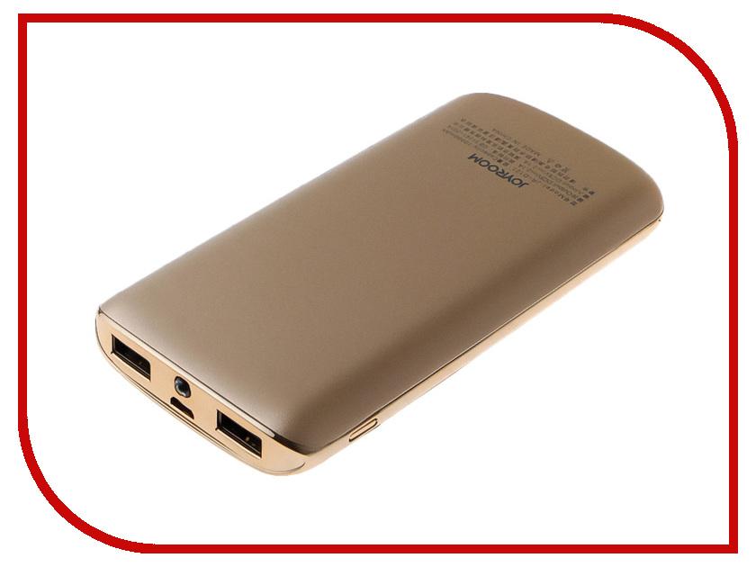 Аккумулятор JoyRoom Chi D-121 10000mAh Gold аккумулятор joyroom nick d m175 20000mah red