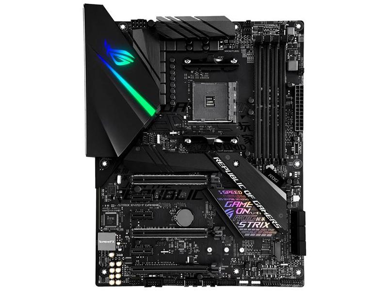 Материнская плата ASUS ROG STRIX X470-F GAMING computer vga gpu cooler rog strix rx470 dual rx480 graphics card fan for asus rog strix rx470 o4g gaming video cards cooling
