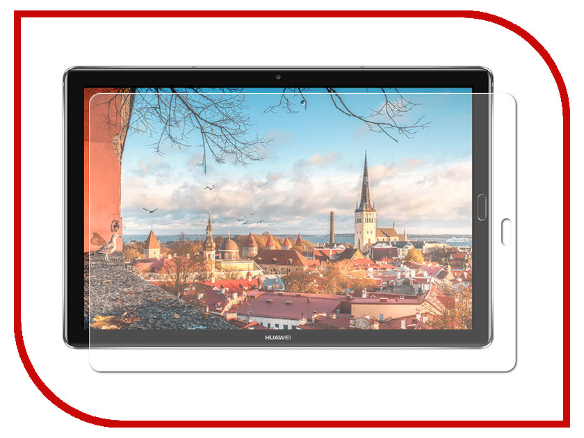 Аксессуар Защитная пленка Huawei Mediapad M5 Pro 10.0 Red Line silicon pu leather case for huawei mediapad m3 btv w09 btv dl09 8 4 inch smart sleep case cover tablet flip shell funda capa
