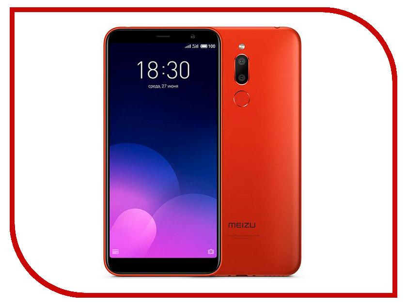 Сотовый телефон Meizu M6T 16Gb Red сотовый телефон jinga basco m500 3g white